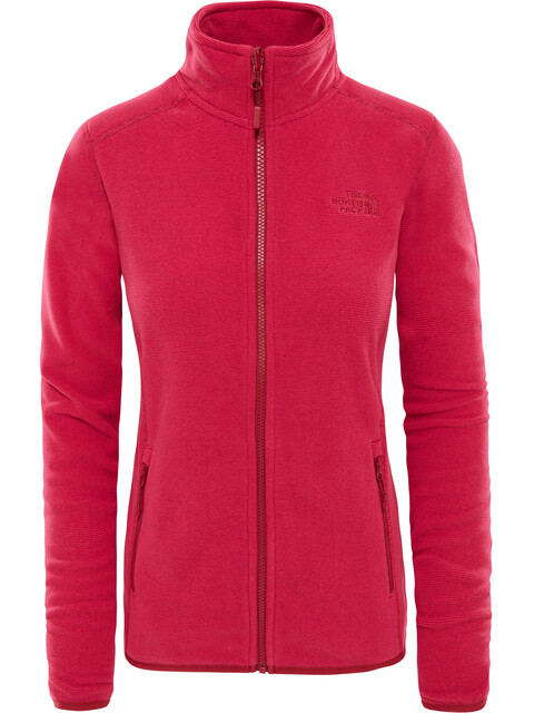 The North Face 100 Glacier Jas Dames rood